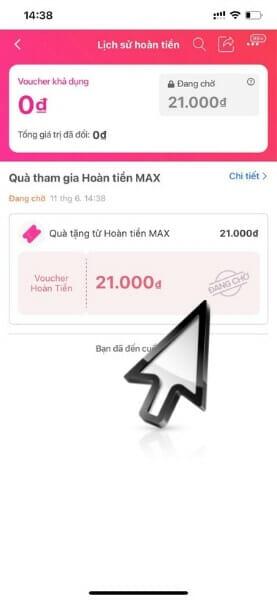 đổi mã giảm giá Hoàn tiền MAX Lazada